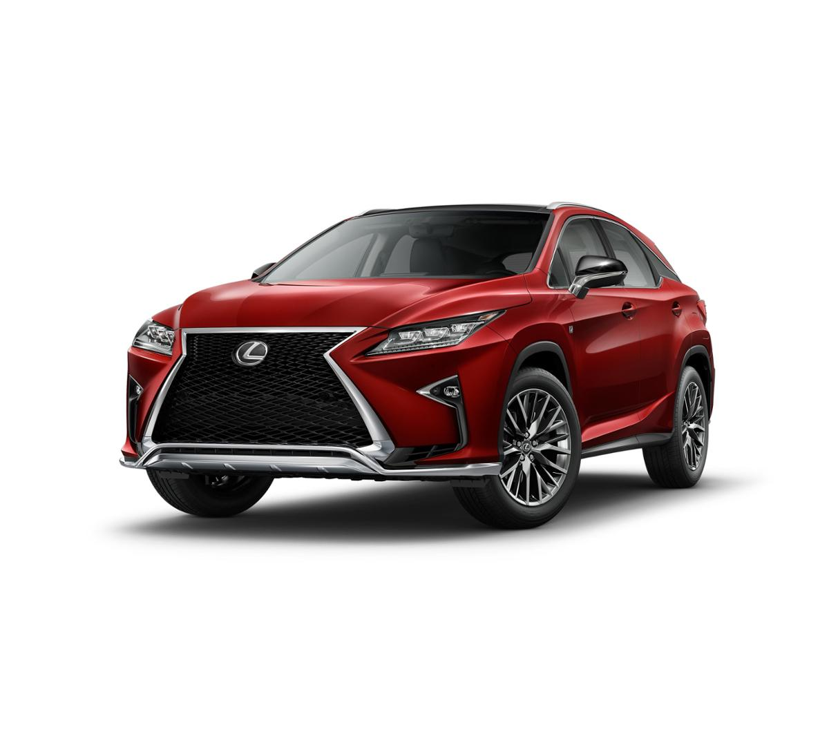 New 2018 Lexus RX 350 (Matador Red Mica) For Sale In