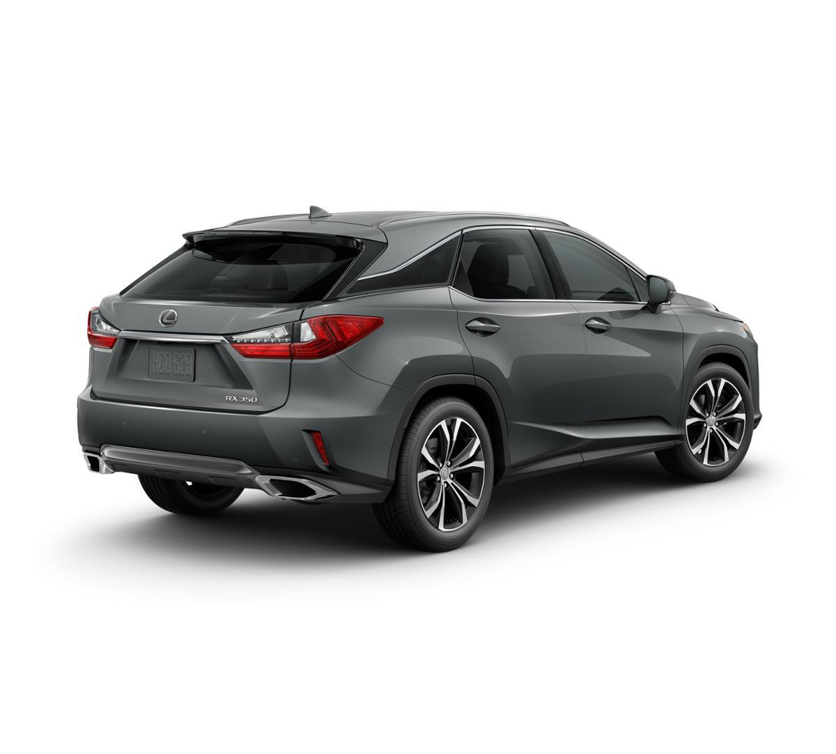 Dallas New 2018 Lexus RX 350 Nebula Gray Pearl: Suv For