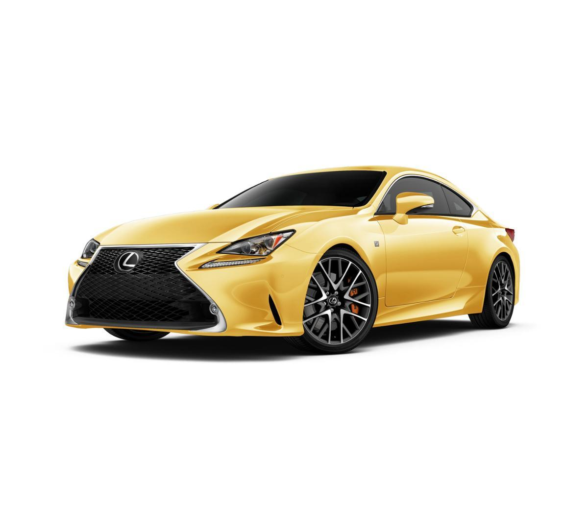 escondido flare yellow 2018 lexus rc 300 new car for sale. Black Bedroom Furniture Sets. Home Design Ideas