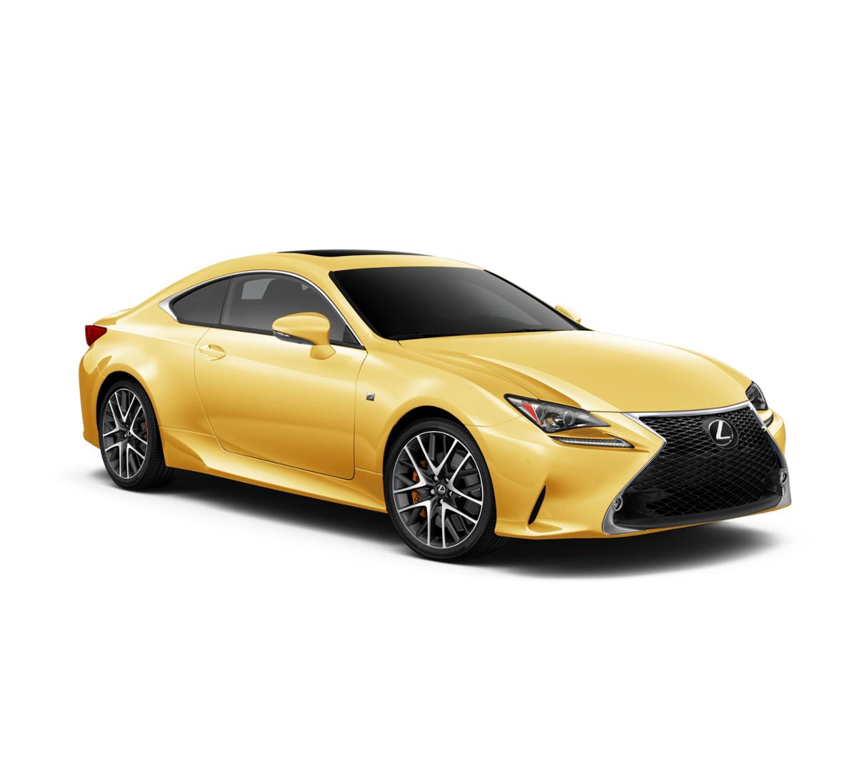 new flare yellow 2018 lexus rc 300 f sport for sale fremont ca magnussen lexus of fremont. Black Bedroom Furniture Sets. Home Design Ideas
