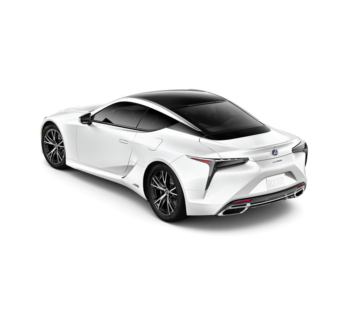 New Ultra White 2018 Lexus Lc 500h For Sale Santa Monica