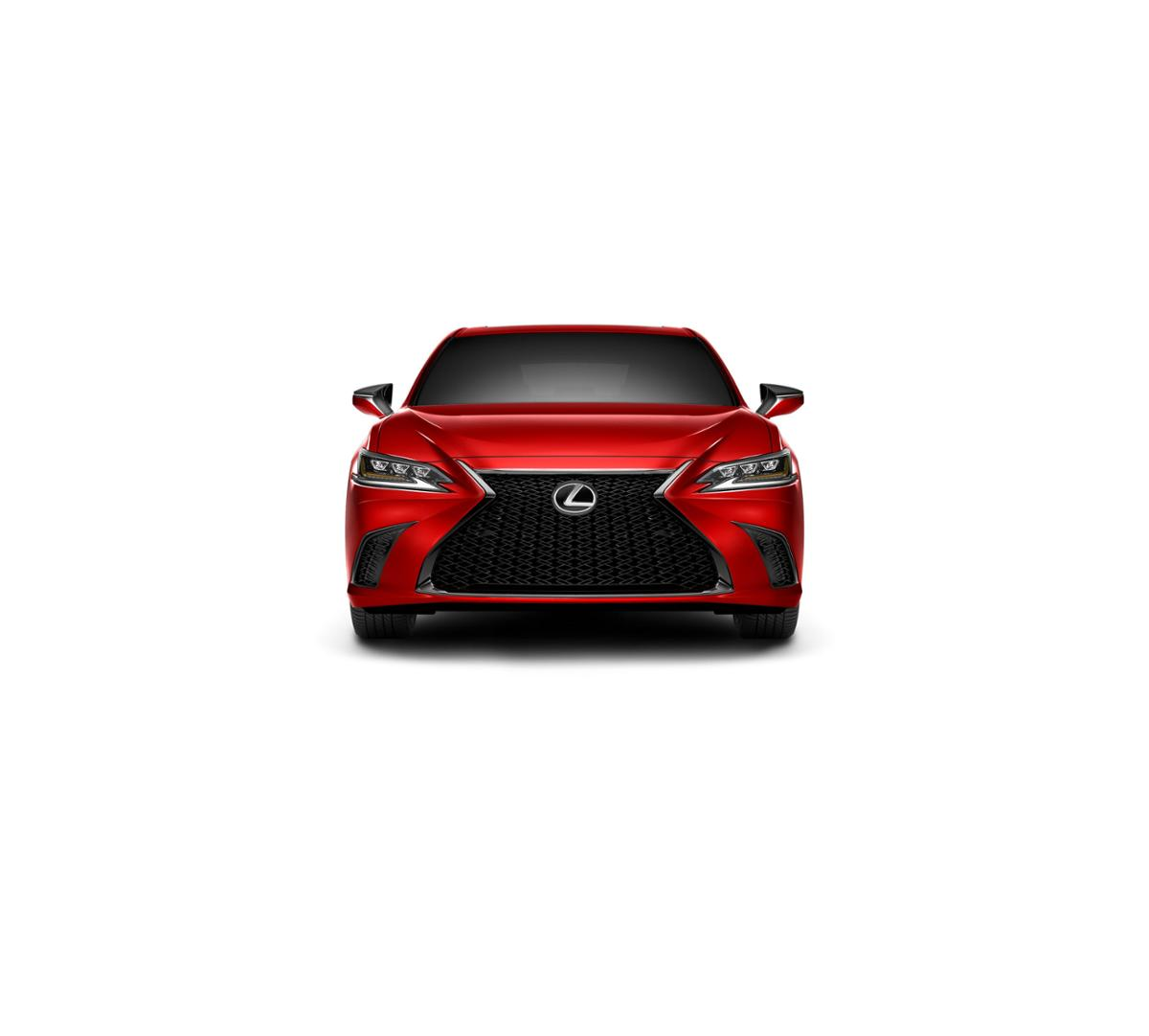 Dallas New 2019 Lexus ES 350 Matador Red Mica: Car for Sale