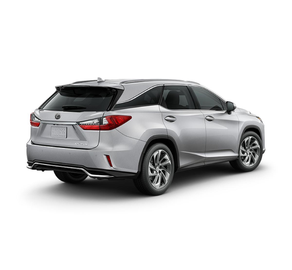 Silver Lining Metallic 2019 Lexus RX 350L: New Suv For