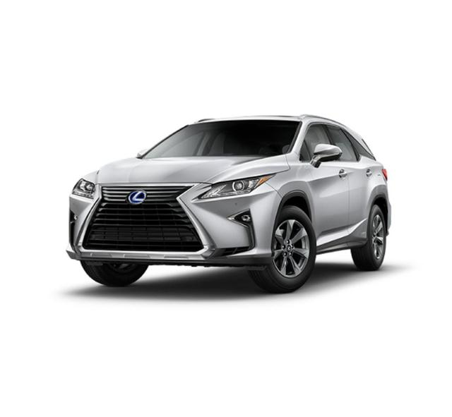 Fort Worth New 2019 Lexus Rx 450hl Silver Lining Metallic Suv For