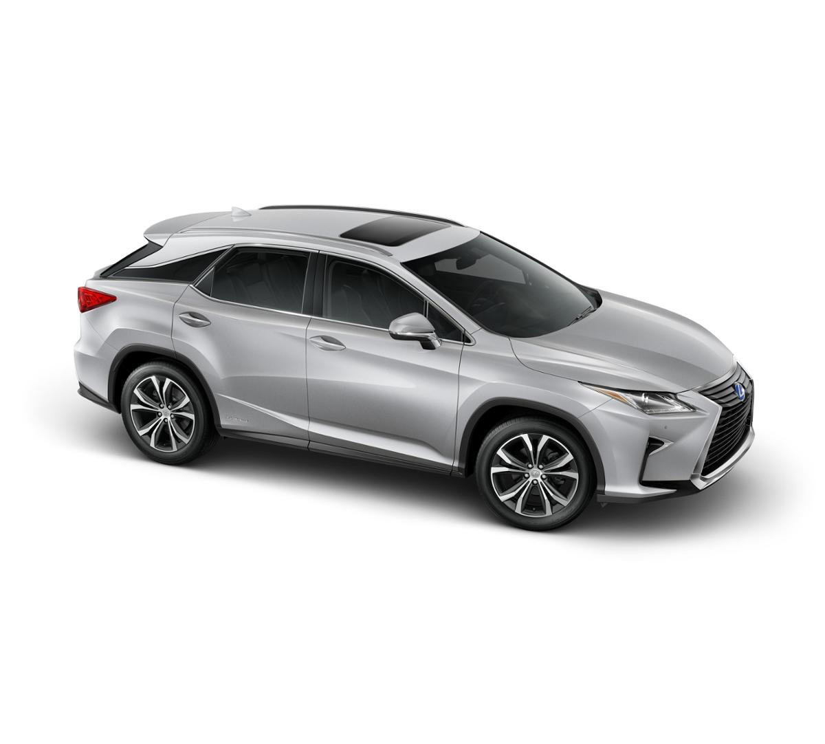 2019 Lexus Rx Hybrid: Freehold Silver Lining Metallic 2019 Lexus RX 450h New For