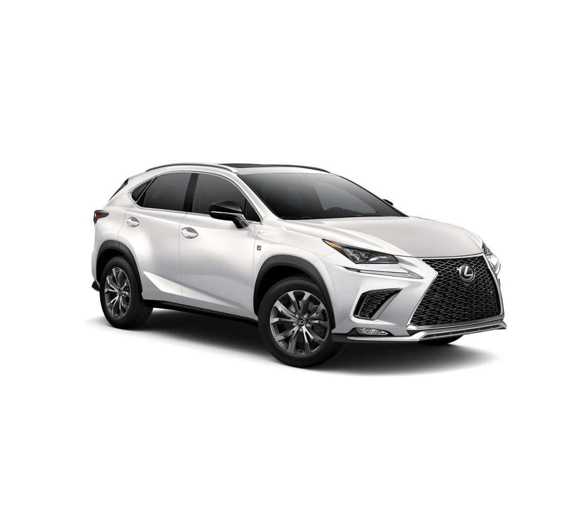 New 2019 Ultra White Lexus NX 300 F Sport For Sale In