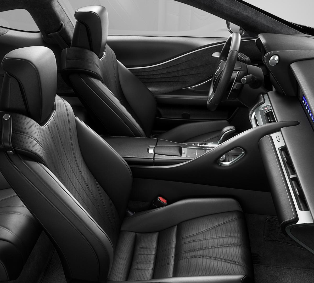 New Ultra White 2019 Lexus LC 500 In Cerritos, CA