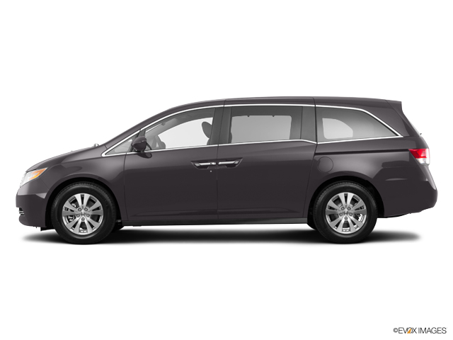 Used 2016 smoky topaz metallic honda odyssey ex l with for 2016 honda odyssey colors