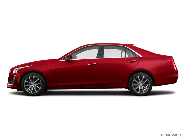 Used 2016 Cadillac Cts Sedan Red Obsession Tintcoat Car