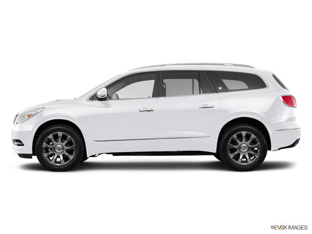 Burlington White Frost 2017 Buick Enclave New Suv For
