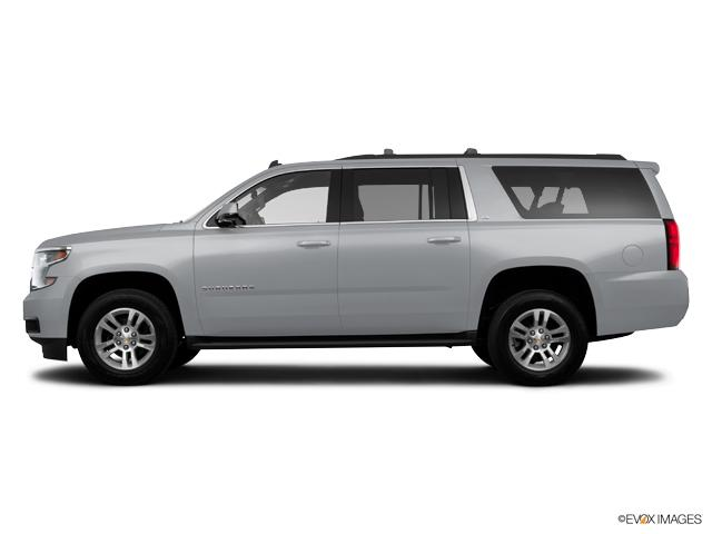 New 2017 Radiant Silver Metallic Chevrolet Suburban 4wd
