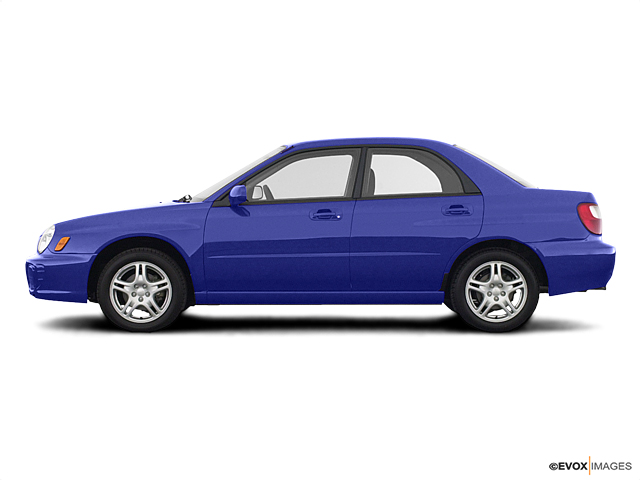 2003 Subaru Impreza Sedan Vehicle Photo in American Fork, UT 84003