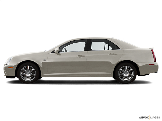 Test Drive A used Cadillac STS In Sand Storm At Joseph Buick