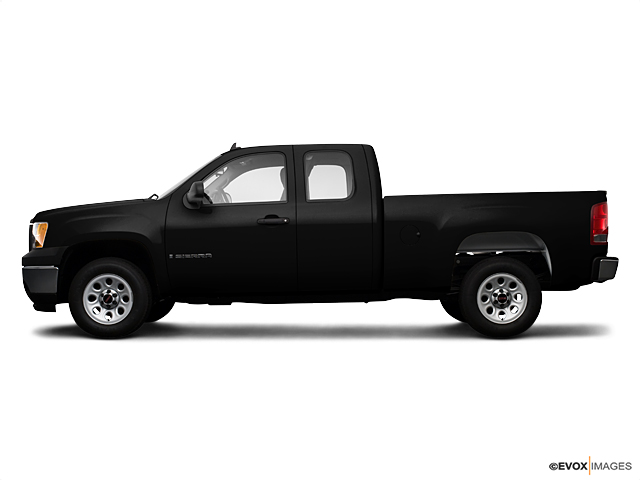 new 2009 gmc sierra 1500 extended cab standard box 4 wheel. Black Bedroom Furniture Sets. Home Design Ideas