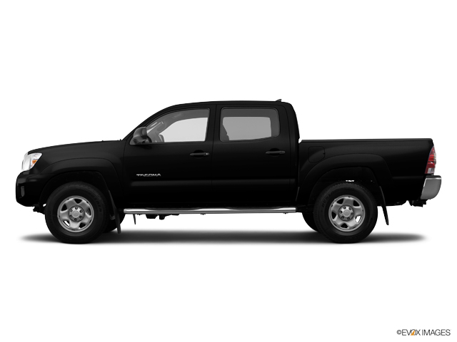 Used Truck 2014 Black Toyota Tacoma Dbl Cab 4wd V6 At For