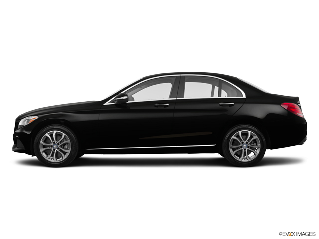 Used 2015 Mercedes Benz C Class Black Car For Sale