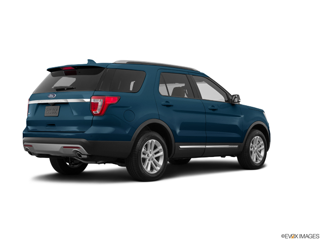 Blue jeans metallic 2016 ford explorer used suv for sale for Ford motor credit tampa