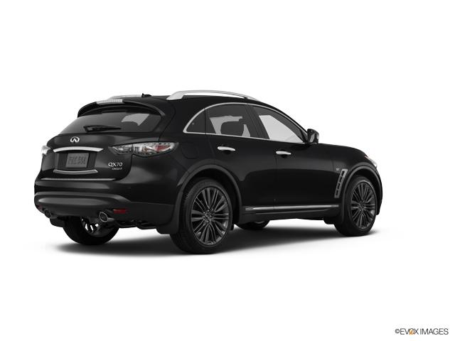 black obsidian new 2017 infiniti qx70 for sale at a grubbs dealership near you pi13407. Black Bedroom Furniture Sets. Home Design Ideas