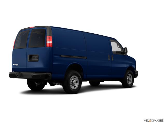 Dark Blue Metallic 2014 Chevrolet Express Cargo Van AWD ...