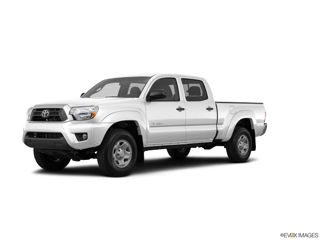 2015 Toyota Tacoma PreRunner White 4D Double Cab  A Toyota