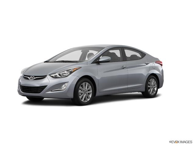 2016 Hyundai Elantra SE Shale Gray Metallic SE 4dr Sedan 6M (US). A
