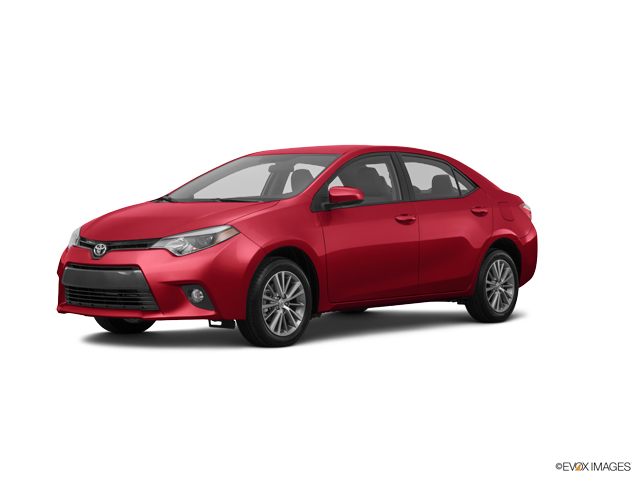 2015 Toyota Corolla Vehicle Photo in Manassas, VA 20109