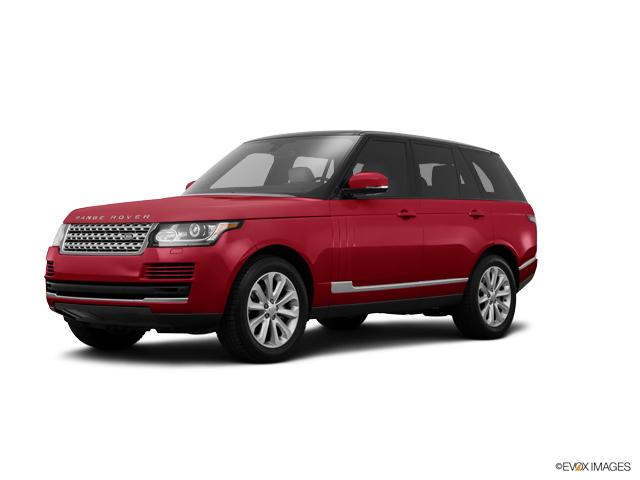2015 Land Rover Range Rover Vehicle Photo in Appleton, WI 54913