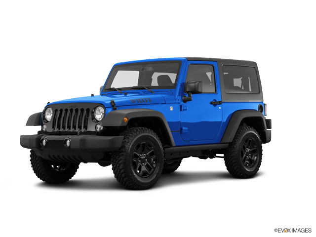 2016 Jeep Wrangler Vehicle Photo in Casper, WY 82609