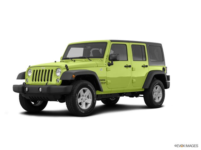 2016 Jeep Wrangler Unlimited Vehicle Photo in San Angelo, TX 76901