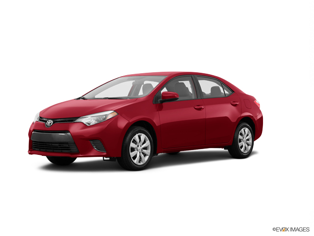 2016 Toyota Corolla Vehicle Photo in Edinburg, TX 78539