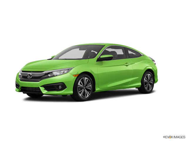 Used Car 2016 Energy Green Pearl Honda Civic Coupe EX T CVT For Sale
