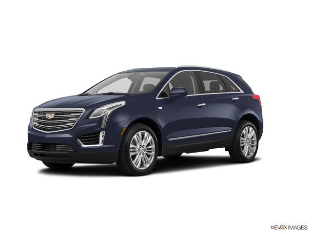 Certified 2017 Cadillac Xt5 Dark Adriatic Blue Metallic