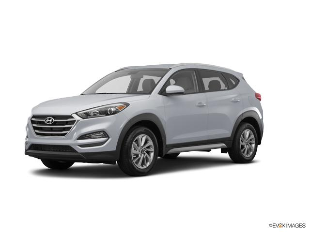 2017 Hyundai Tucson SE Molten Silver SE 4dr SUV. A Hyundai Tucson at