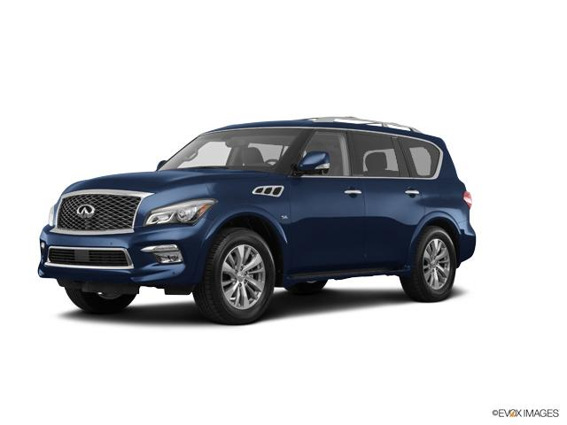 Used 2017 Hermosa Blue INFINITI QX80 for Sale in Overland Park