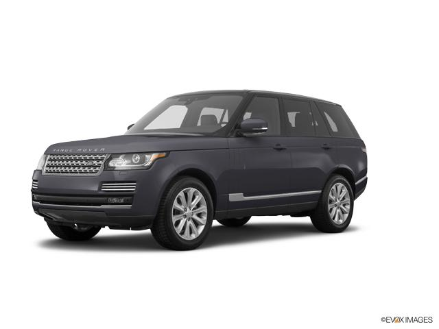 2017 Land Rover Range Rover Vehicle Photo in Grapevine, TX 76051