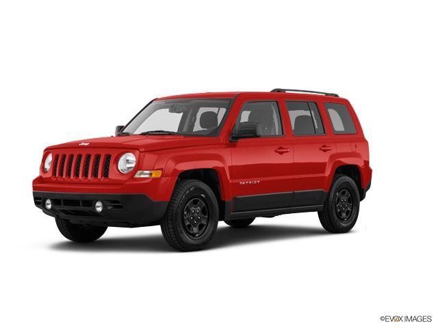 2017 Jeep Patriot Vehicle Photo in San Angelo, TX 76901
