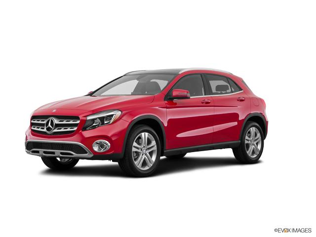 New 2018 mercedes benz gla jupiter red suv for sale for Mercedes benz north houston service coupons