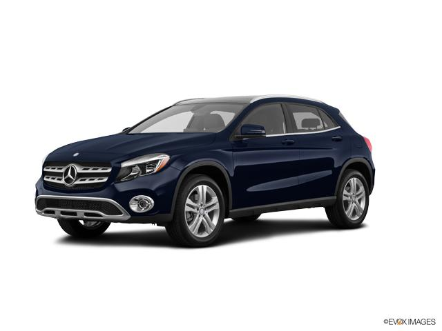 New 2018 mercedes benz gla lunar blue metallic suv for for Mercedes benz north houston service coupons