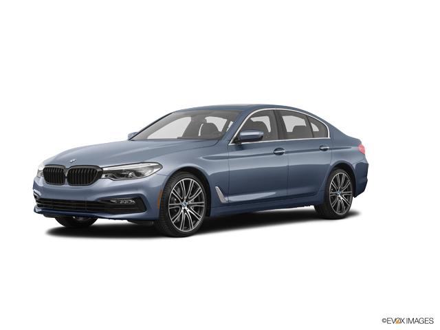 New 2018 Bmw 540i Bluestone Metallic Car For Sale