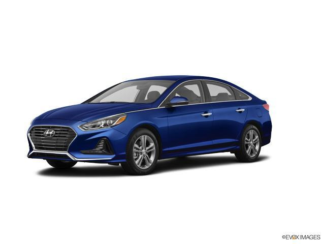 2018 Hyundai Sonata Sport Lakeside Blue 2 4L SPORT A Hyundai Sonata