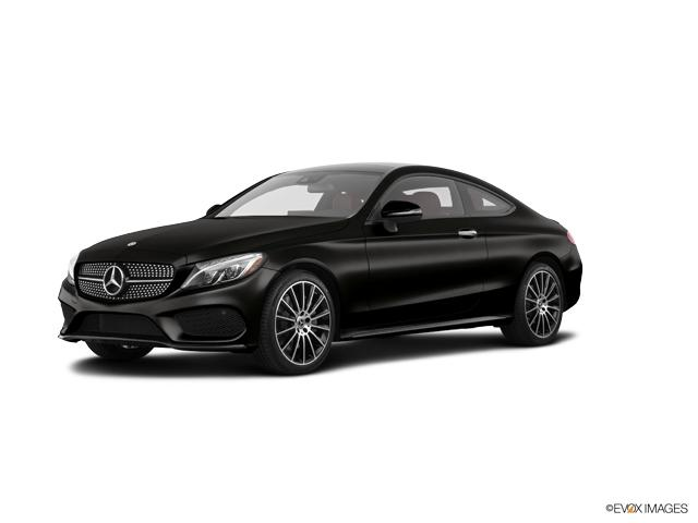 New 2018 mercedes benz c class black car for sale for Mercedes benz north houston service coupons