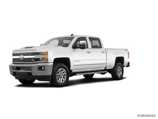 Heflin Summit White 2018 Chevrolet Silverado 2500hd Used Truck For