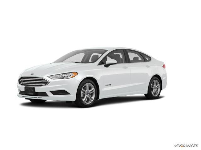 Seattle Oxford White 2018 Ford Fusion Hybrid Used Car For Sale