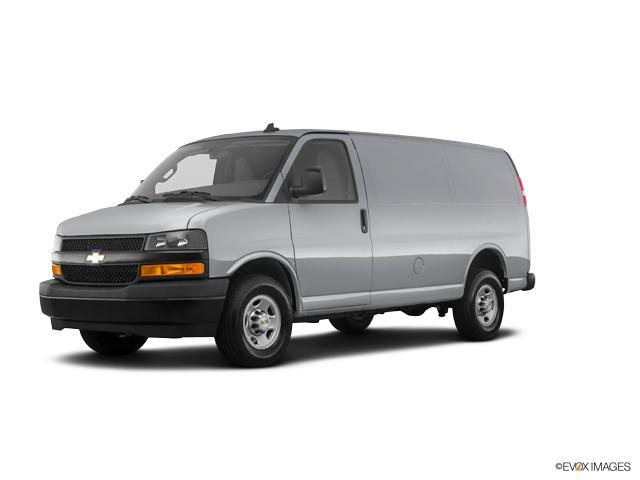 Silver Ice Metallic 2018 Chevrolet Express Cargo Van 3500 Regular
