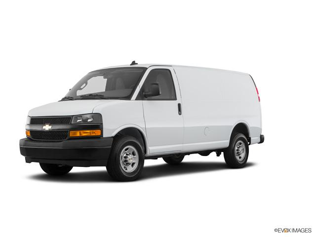 2018 Chevrolet Express Cargo Van Vehicle Photo in Ellwood City, PA 16117