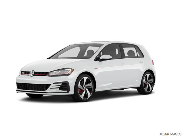 Westborough Pure White 2018 Volkswagen Golf Gti Used Car For Sale