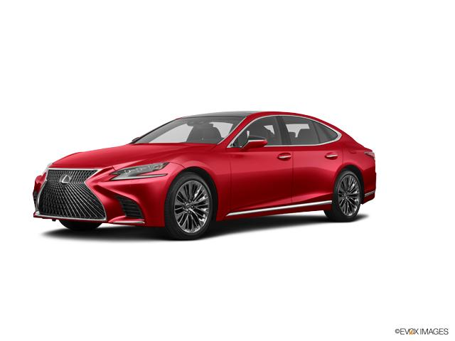 New 2018 Lexus Ls 500 Matador Red Mica Car For Sale
