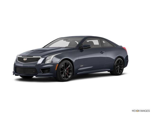 Certified 2019 Cadillac ATS-V Coupe Satin Steel Metallic ...