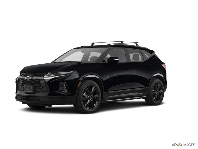 New 2019 Black Chevrolet Blazer FWD Premier For Sale in