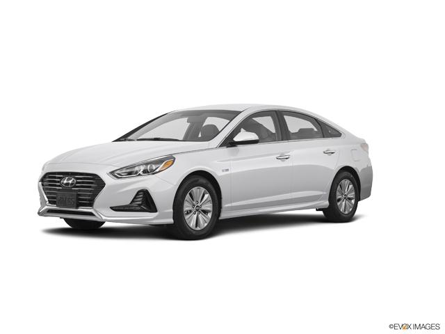 2019 Hyundai Sonata Hybrid Vehicle Photo in Merrillville, IN 46410